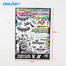 New general personalized Decals Stickers for pit bike dirt bike motorcycle motocross supermoto Cross motorcycle scooter ATV