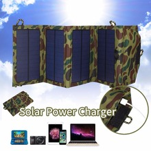 Universal 7W Polysilicon Folding Solar Panel Charger Plate Battery For Phone Outdoor Travelling Powerbank DIY Cell Module