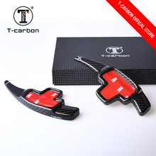 T-carbon Carbon Fiber Steering Wheel Shift Paddles For M-ercedes benz CLA GLA GLK