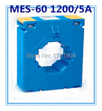 MES- 60 1200/5A 0.5-0.1 class CP low voltage current transformer small Window type, CT, CA ring type(China)
