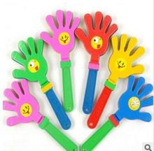 Toys Plastic hand clap noise maker for evening party or vocal concert light products three size supply(China)