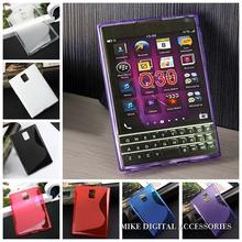For Blackberry Passport Q30 New High Quality Multi Color S Line Skidproof Matte Gel Skin Case Cover(China)