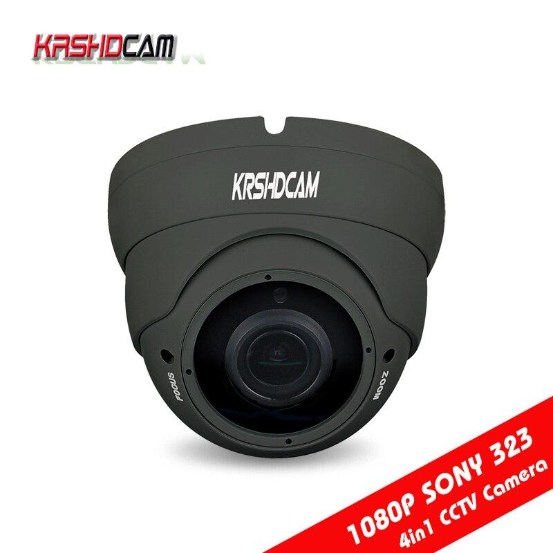 1080P AHD/TVI/CVI/CVBS CCTV camera 4 in 1 Cameras sony sensor varifocal waterproof/vandarproof room dome outdoor security<br>