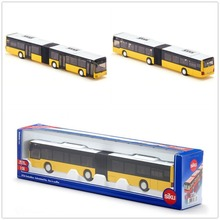 SIKU/Diecast Metal Model/The simulation toy:Man Double-decker bus toy/for children's Festival gift for collection/Educational
