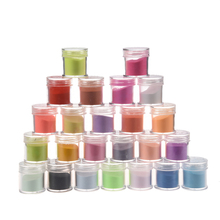 5PACK (24 Color Acrylic Powder Dust Nail Art Decoration(China)