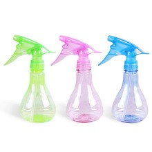 1Pcs Plastic 255ML Sprinkle Bottle Mist Spray Bottle Potted Plant Watering Hand Pressure Watering Bottle Random Color