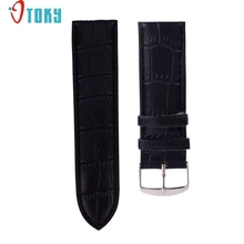 OTOKY Hot Unique   14mm High Quality Soft Sweatband Leather Strap Steel Buckle Wrist Watch Band Drop ship F35