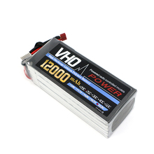 Buy VHO 6S 22.2V 12000mAh 25C LiPo Battery Traxxas RC Helicopter Airplane Car Boat Quadcopter Airplane drone Spare Parts for $107.57 in AliExpress store