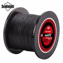 SeaKnight Brand Tri-Poseidon Series TP500M Braided Fishing Line 4 Strands 500M Strong Multifilament PE Line 8-60LB Braided Wire