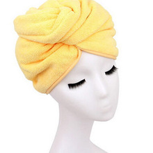 Microfiber Bath Towel Hair Dry Hat Cap Quick Drying Lady Bath Tool New Suzie Super absorbent towel 1414 59.5*22cm