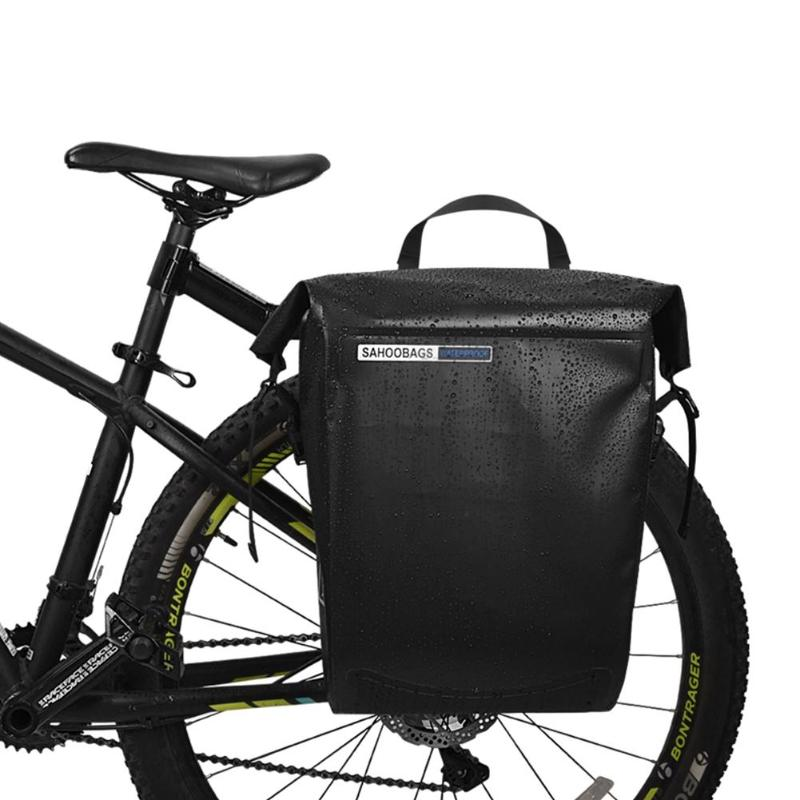 Double Panniers Bag Bike Bicycle Cycling Rear Seat Trunk Rack Pack Saddle Bag////