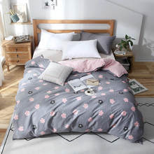 High Quality Bedding Set 100% Cotton Duvet Cover Quilt Cover Bed Sheet Pillowcase King Queen Full King Comforter Set(China)