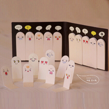 paper bookmark stationery bookmarks book holder message card school supplies papelaria Finger Shape Memo Pad Note Paper Sticky