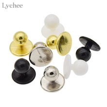 Lychee 10pcs Plastic Buttons Restaurant Uniforms Chef Jacket Uniform Suit Buttons DIY Handmade Sewing Supplies(China)