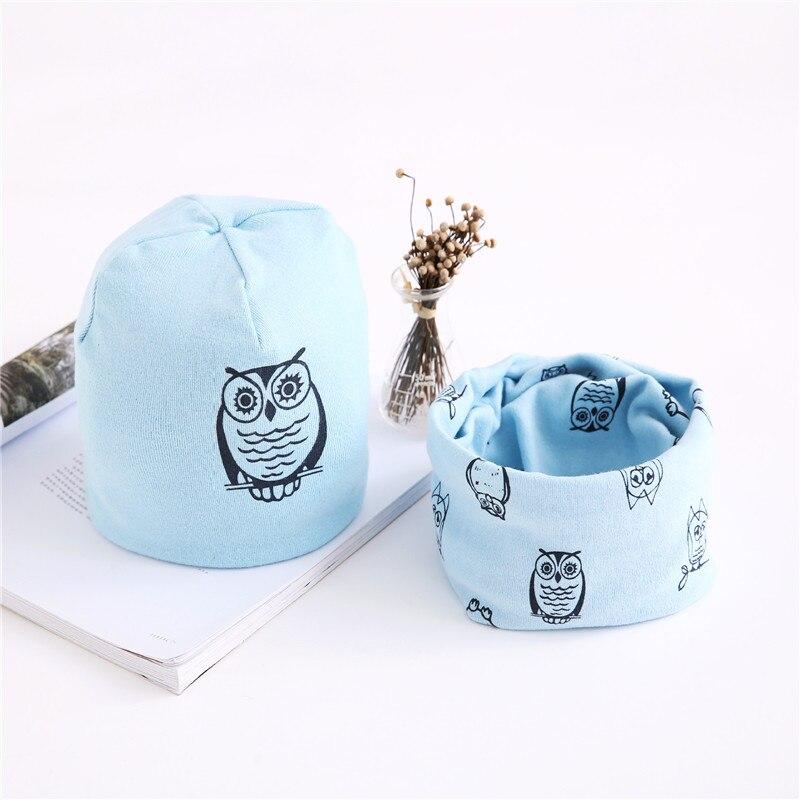 owl light blue set