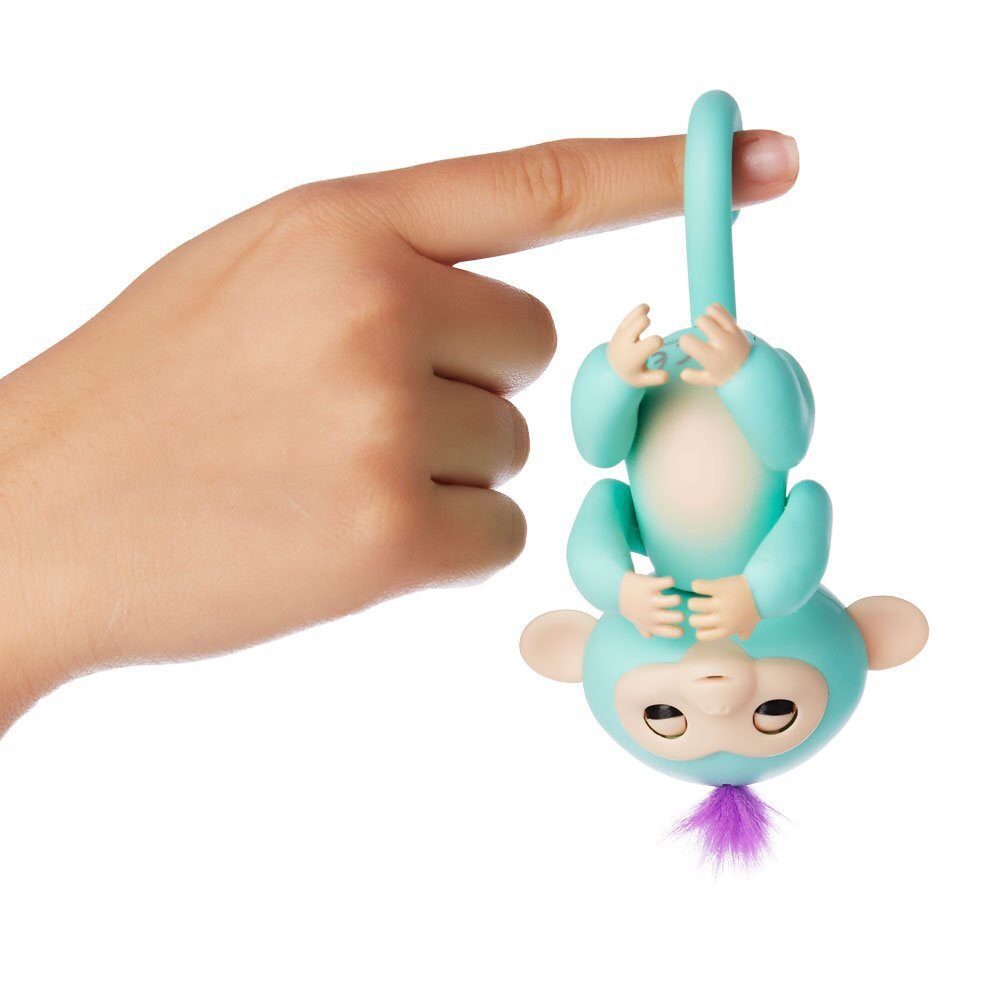 2017 New Fingerlings Interactive Baby Monkeys Toy Smart Colorful Fingers Llings Smart Induction Toys Christmas Gift Toy For Kids 15
