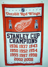 Detroit Red Wings World Series Champions Flag Banner 3ft x 5ft