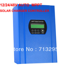 High Conversion Efficiency  40A 12/24/48V Auto Switch MPPT Solar Charge Controller  Regulator  with CE/Rosh