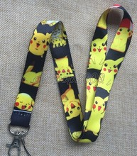 Lot 10Pcs Pikachu Pokemon Anime Mobile Cell Phone Lanyard Neck Straps Party Gifts S168(China)