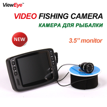 720P 1MP 8 IR LED HD 1000TVL 3.5'' Color LCD Monitor Underwater Ice Video Fishing Camera System Visual Video Fish Finder Fishcam(China)