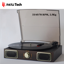 PATLI Tech Old fashion Classical Phonograph records player Vinyl gramophone Record LP Turntable Classics Music machine(China)