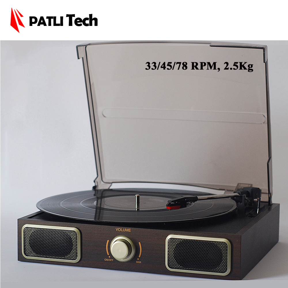 PATLI Tech Old fashion Classical Phonograph records player Vinyl gramophone Record LP Turntable Classics Music machine(China (Mainland))