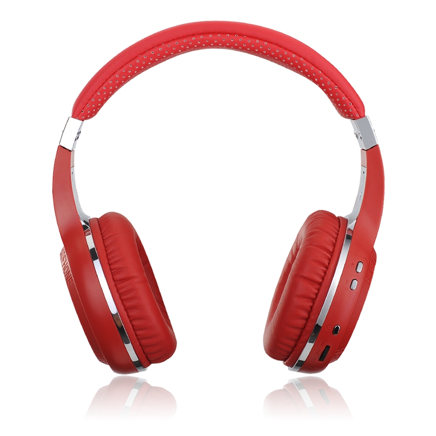 Free Shipping Hurricane H Bluetooth 4.1 Headphones with Mic Hands-free Calling Red Stereo HiFi Headset For iPhone Samsung LG HTC<br><br>Aliexpress