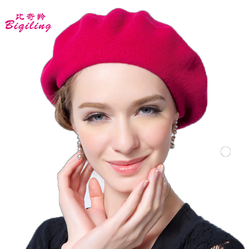 Womens Winter Hat Wool Beanies Female Fashion Skullies Casual Outdoor Solid Caps Warm Hats For WomenОдежда и ак�е��уары<br><br><br>Aliexpress