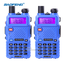 2pcs Portable Radio Set BaoFeng UV-5R Dual Band VHF/UHF136-174Mhz&400-520Mhz Frequency Walkie-Talkie Amateur For Hunting Radio