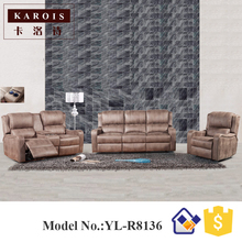 modern electric recliner sofa italian leather sofa set 3 2 1 seat sofa