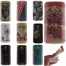 Fashion Design case Ultra Thin Soft TPU Gel Silicon For Motorola MOTO G2 G+1 XT1063 XT1068 XT1069 case cell phone Back covers