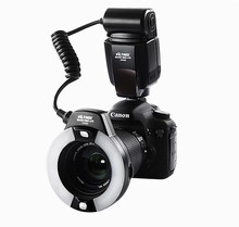 Viltrox JY-670C For Canon Pentax Olympus Camera Macro LED Ring Flash Light Photography Photo Led Ring Flashes