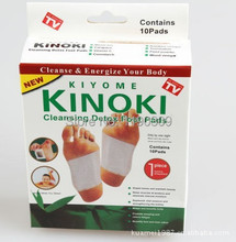 Cleansing Detox Foot Pads/Kinoki Detox Foot Pads Patches with Retail Box and Adhesive slimming (5Box=50pcs Pads+50pcs Adhesive)