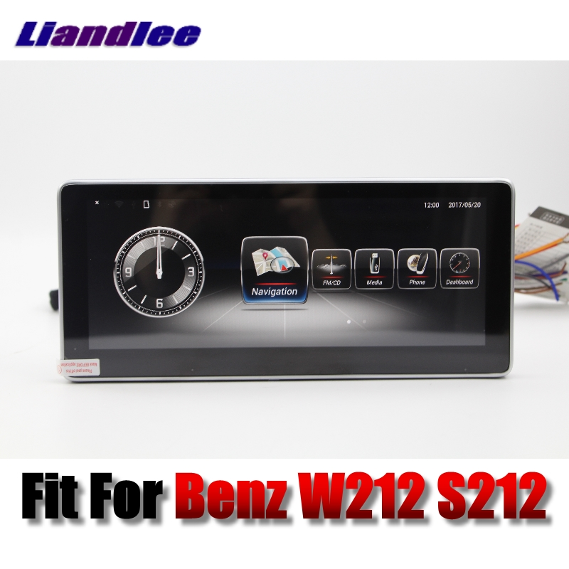 Liandlee Car Multimedia Player NAVI For Mercedes Benz MB E Class W212 S212 2009~2013 Car Radio Stereo GPS Navigation 9