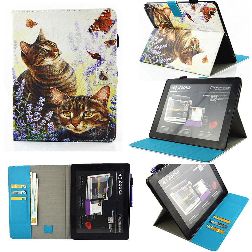 Tablet PU Leather Cases For Apple iPad 2 3 4 iPad2 iPad3 iPad4 iPad 2 3 4 9.7 Covers With Automatic Sleep Function Bags Shell<br><br>Aliexpress