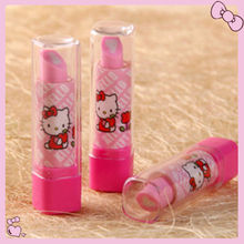 New Cute Hello kitty Lipstick Eraser Rubber GIFT yey-K564