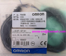 New and original  E3T-ST21  OMRON  Photoelectric switch   2M  12-24VDC   Photoelectric sensor