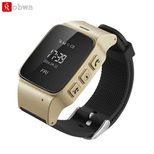 D99 Elderly Smart Watch For Xiaomi iPhone Anti-lost Gps+Lbs+Wifi Tracking With WIFI Mini Watch for Old Men Women iOS Android(China)