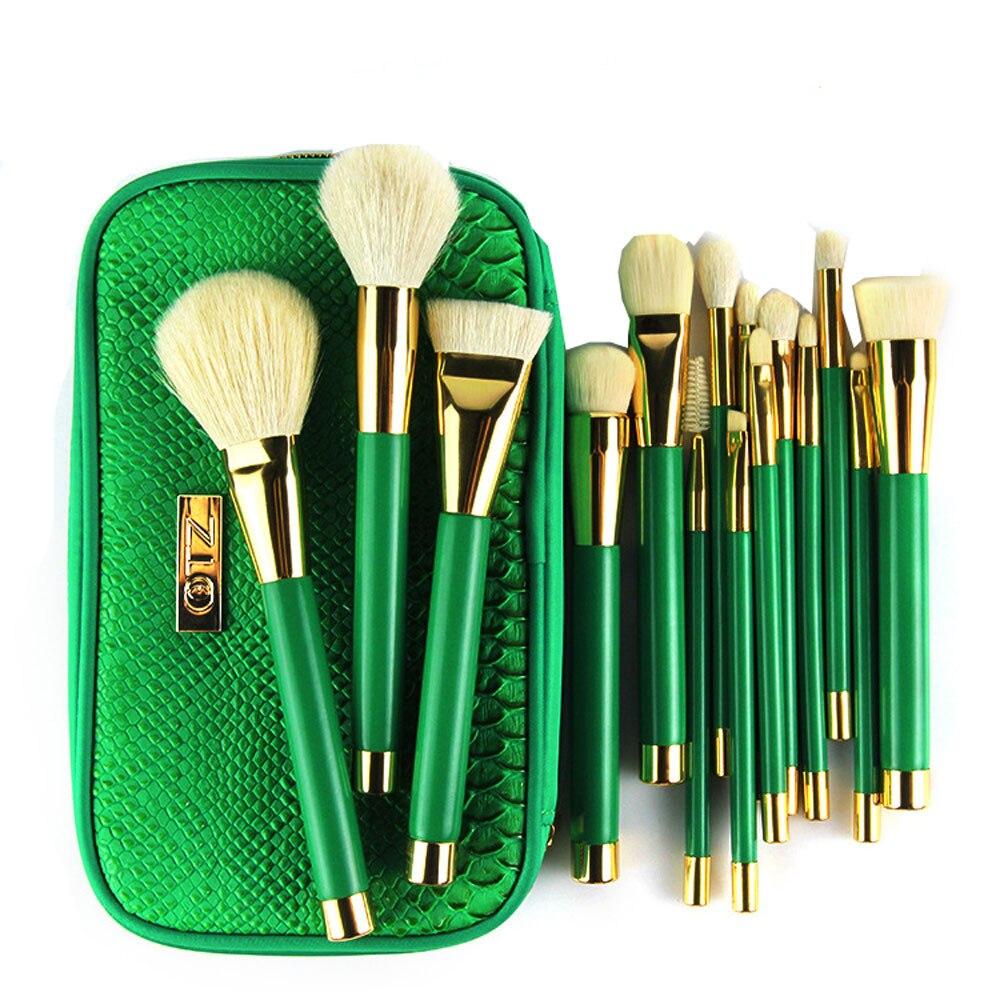 2017 15PCS/1bag Professional Artist Cosmetic Makeup Brush Brushes Set Foundation Powder Eyeshadow Premiuim Makeup brush set<br>