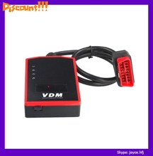 Newest V3.81 AUGOCOM VDM WIFI Diagnostic Tool Support Win7/8 with Honda Adapter Update Online(China)