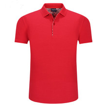 Custom printed polo shirt high quality workwear your business name or logo embroided polo t shirt Event casual polo uniform(China)