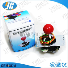 Original Japan Sanwa Joystick JLF-TP-8YT Fighting rocker with Topball and 5pin wire for Jamma arcade game part(China)
