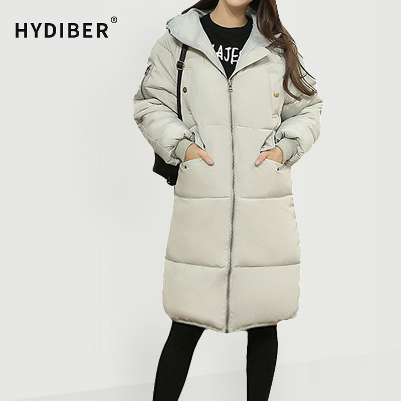 Plus Size 3XL Winter Coat Women Jacket Thick Parkas Long Cotton Padded Hooded Wadded Womens Winter Jacket Solid Large OuterwearОдежда и ак�е��уары<br><br><br>Aliexpress