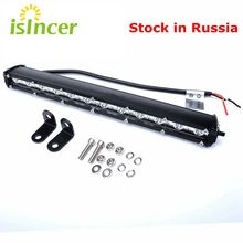 13 Inch LED Car Work Light Bar Daylight LED Car Lamp Waterproof 36W Car LED Light Bar 12V 24V Spot DRL For ATV Jeep ORV(China)