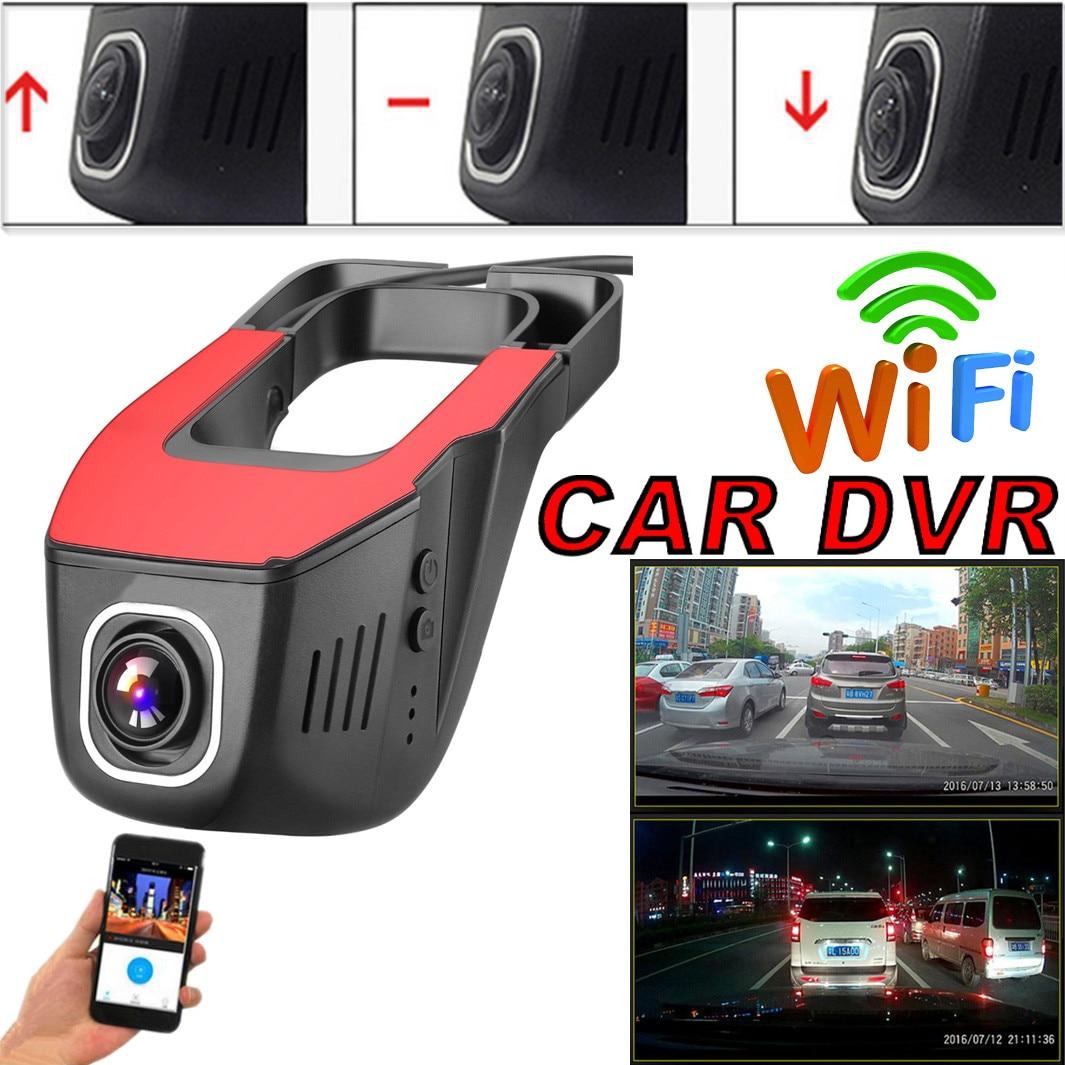 2pcs 1080P WiFi Car Camera DVR Hidden Video Recorder Dash Cam G-Sensor
