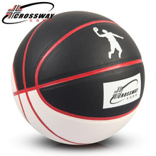 CROSSWAY Brand PU basketball games balls offcial size and weight basketballs 74-803 indoor or outdoor balls Free Shipping(China)