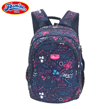 JASMINESTAR Backpacks For Teenage Girls Boys Anti Theft Backpacks With Headphone Hole Kids Laptop School bags For Teenagers(China)