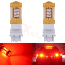 2pcs 3056 3156 3057 3157 LED Bulbs with Projector backup lights turn signal light brake light tail light White 6000K Best Value(China)