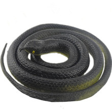 120CM Rubber High Simulation Toy Snake Model Funny Scary Snake Kids Gag Toys Prank Funny Toys Halloween Prank Prop For Decor