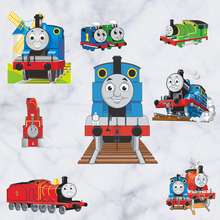 cartoon thomas train wall stickers for kids room school classroom decor wallpaper mural children gift wall pictures pvc poster